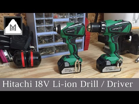 Product Review - Hitachi 18v Lithium Ion Drill / Driver