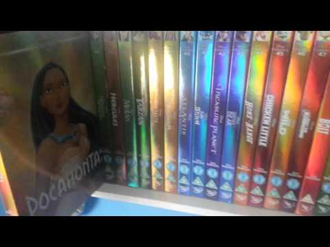 The complete disney classic and pixar dvd slipcovers