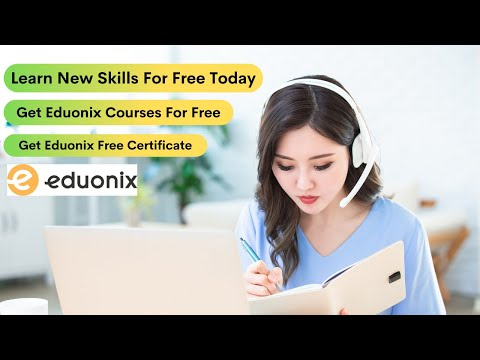 Learn New Skills For Free Today | Get Eduonix Courses For Free | Get Eduonix Free Certificate