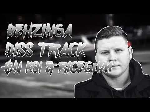 Behzinga - Drama (KSI & Ricegum Diss Track) | karaoke | track | audio | instrumental