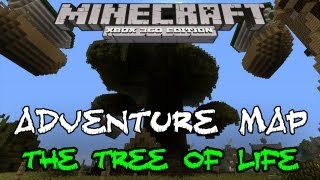 THE TREE OF LIFE #1 | BIGGEST 1.8.2 ADVENTURE MAP | Minecraft Xbox w/DOWNLOAD