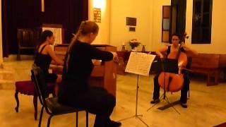 Lory Aintablian, Eleonore Schultz & Shushan Artinian Performing Chopin