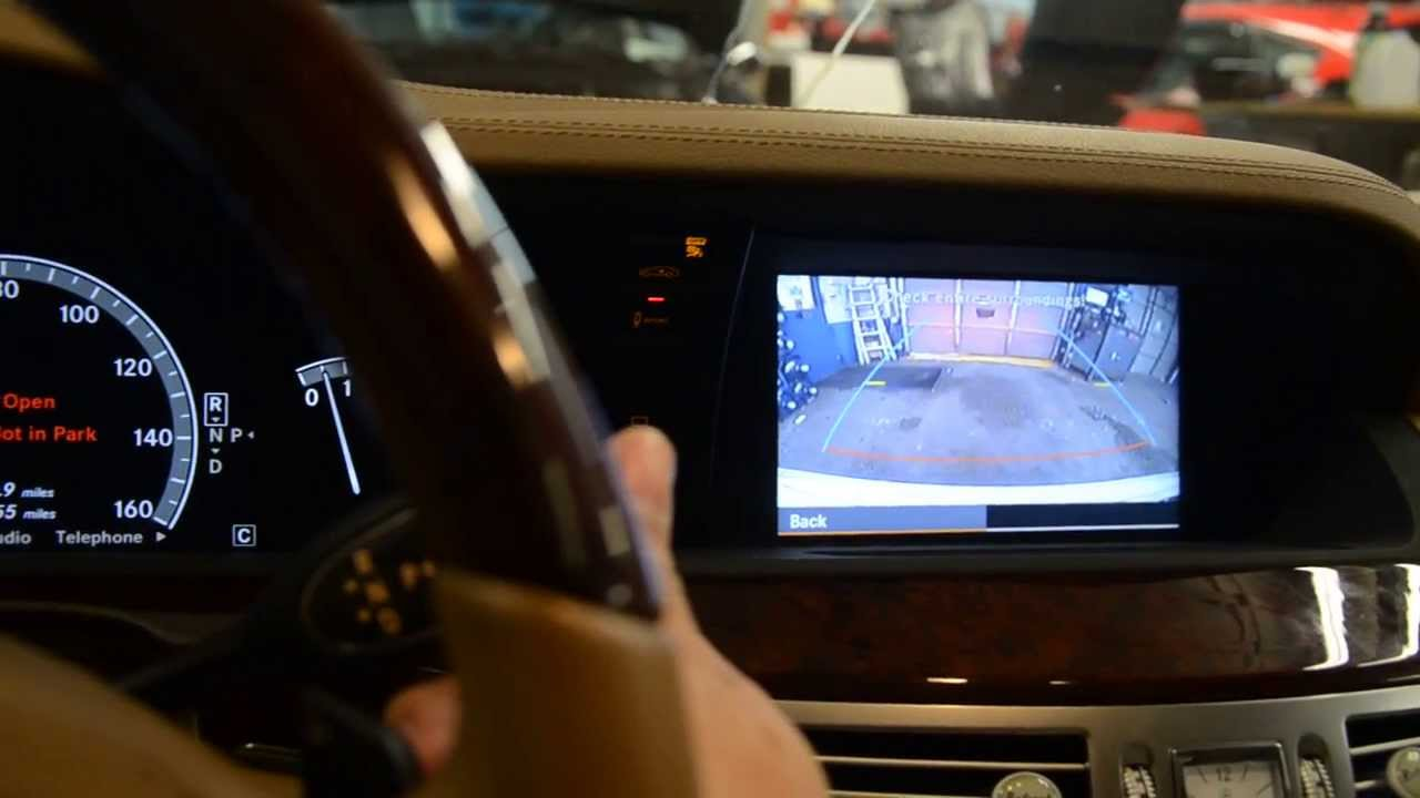 2010 mercedes benz s550 backup camera youtube