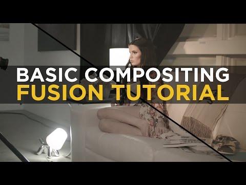 Basic Compositing - Fusion 8 Tutorial
