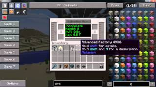 Minecraft Mekanism 4x Ore Processing Demo (1.7.10) Part 2 of 3