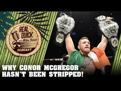 Why Conor McGregor Hasn't Been Stripped! - UFC 223 - Headlines From The Sidelines