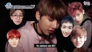 [Vietsub] [BangtanBoysVN] 170228 Hậu trường BTS 'Spring Day' trên M Countdown