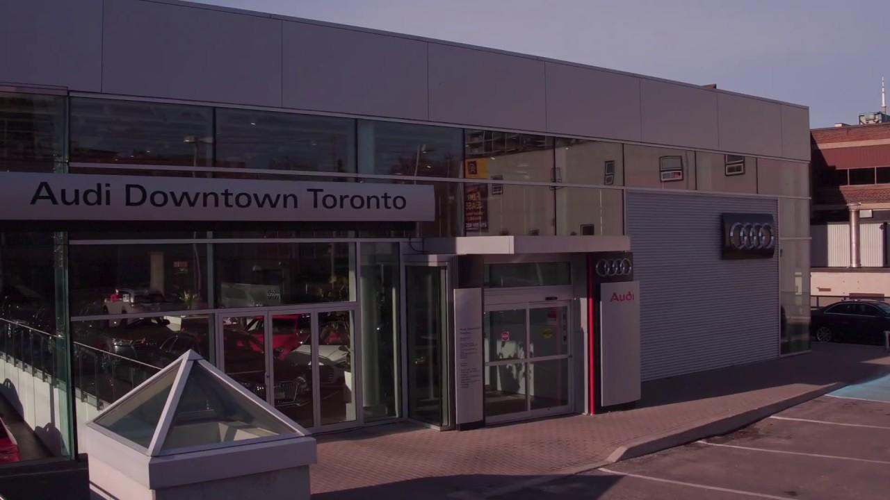 Close To It All Audi Downtown Toronto YouTube - Audi toronto