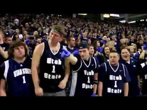 "Utah State University (USU) Basketball ""I Believe That We Will Win"" Chant"