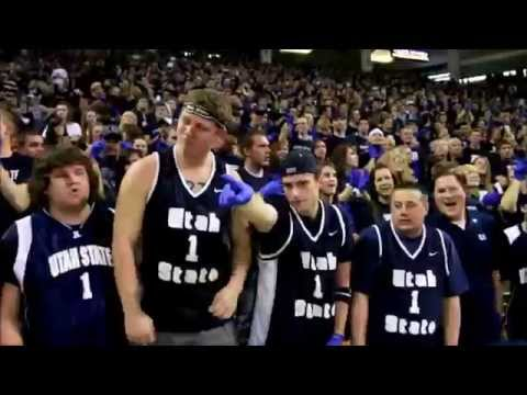 "Utah State University (USU) Basketball ""I Believe That We Will Win"" Chant"