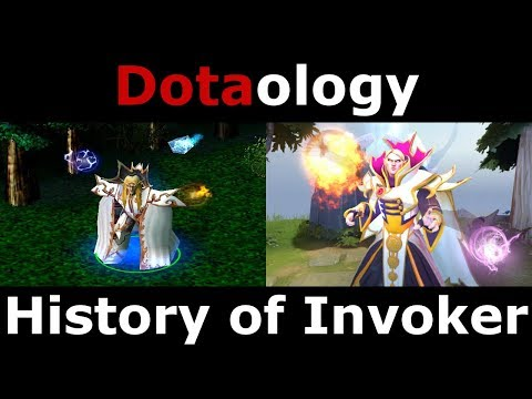 Dotaology: History of Invoker