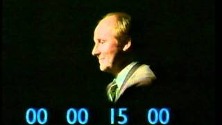 Carling Black Label (lager) 'Superquiz' advert 1988