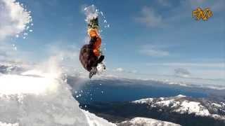 snowboard spot catedral de bariloche fanaticos xnd