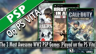 3 Most Awesome WW2 PSP Games (Played on the PS Vita)