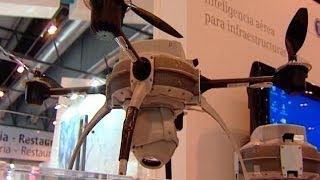Drones, cañones de niebla y detectores en SICUR