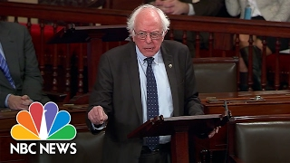 Bernie Sanders Reads Scott King Letter, Calls Warren's Silencing 'Incomprehensible' | NBC News