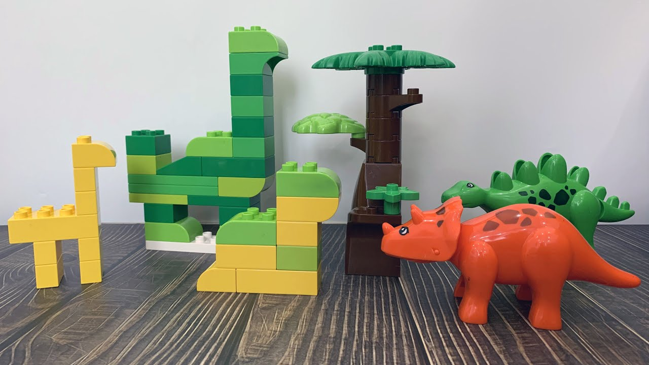 Bộ sưu tập khủng long: Hướng dẫn lắp ghép khủng long lego siêu dễ luôn