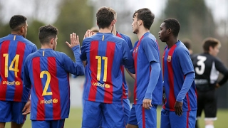 FCB Masia-Academy: Top goals 4-5 February