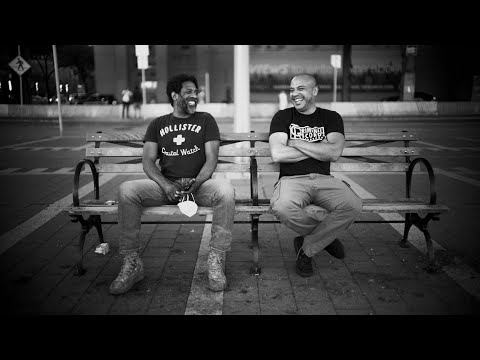 2 Comics On A Bench - Promo #1