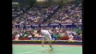 Dallas 1989 SF - Ivan Lendl vs McEnroe