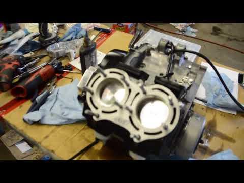 Yamaha Banshee 421 4 mil build part2