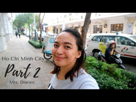 Food Trip + EGG COFFEE | Ho Chi Minh City (Saigon) PART 2 - Mrs. Diaries | Vlog #2