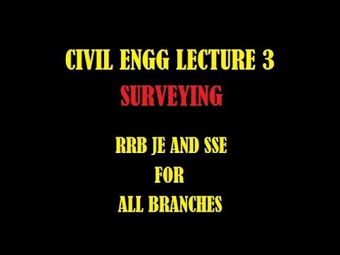 SURVEYING FOR RRB JE AND SSE