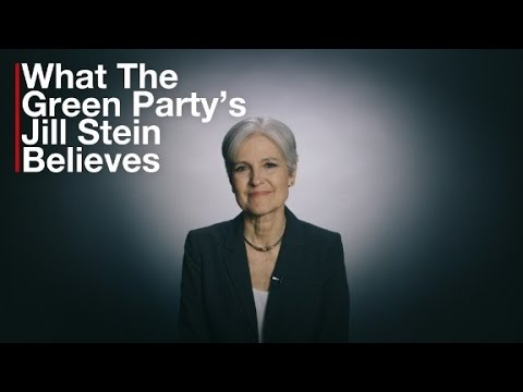 What the Green Party's Jill Stein believes in 2 minutes