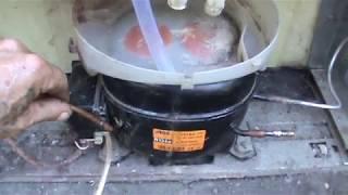Как самому закачать хладагент в холодильник заменив Пропан Бутаном