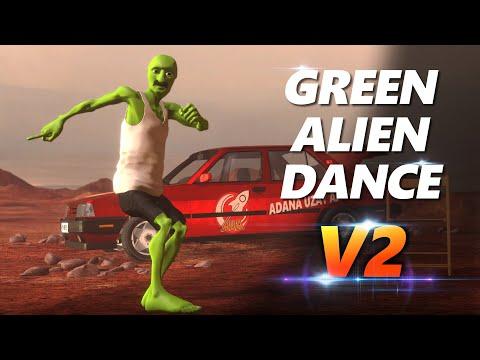 Green Alien Dance V2 - (Dame Tu Cosita Parody)