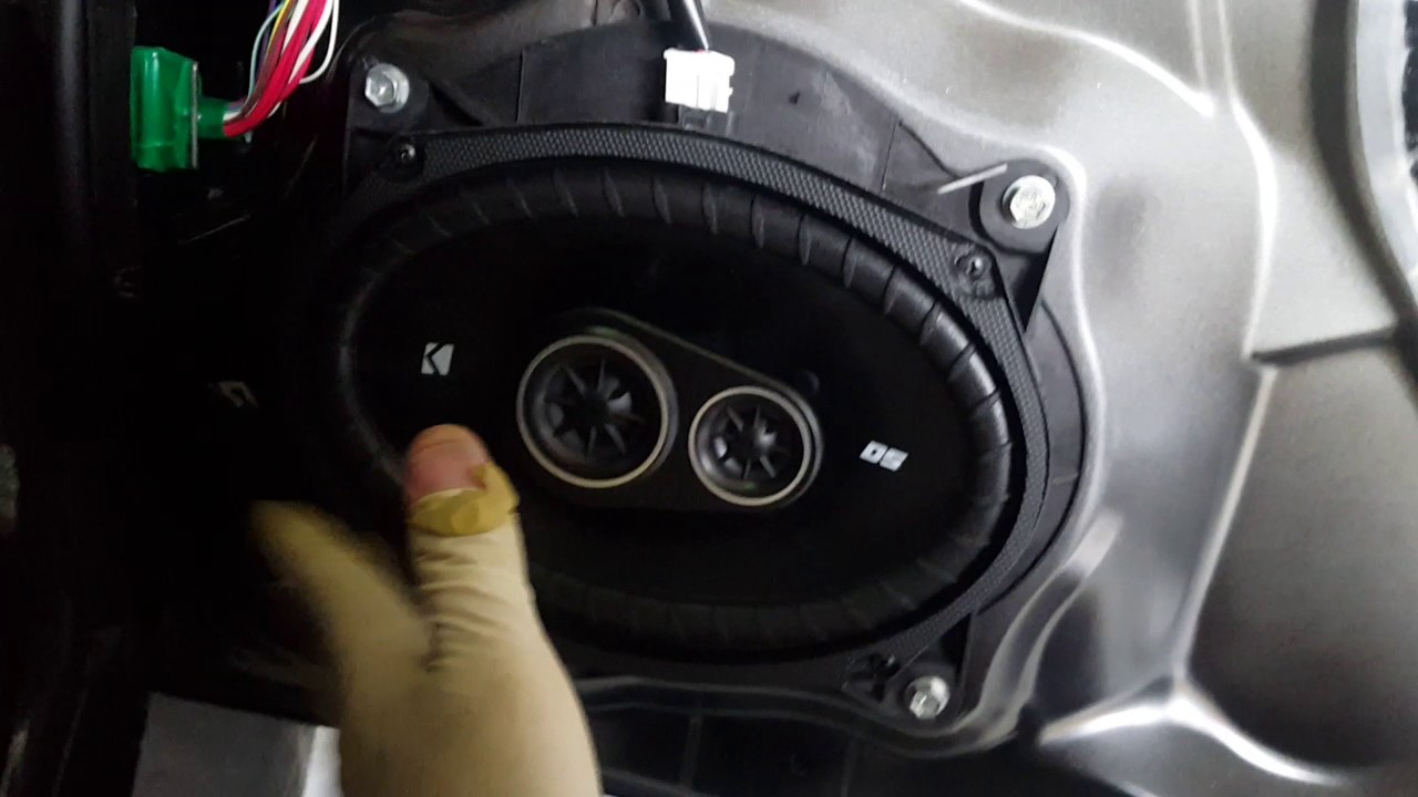 Fj Cruiser Door Speaker Install Youtube