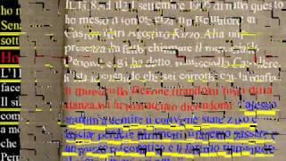 PISA CAVALIERE GAETANO CASSANO IONIO PERRONE SALVATORE COINVOLTO IN OMICIDI .wmv