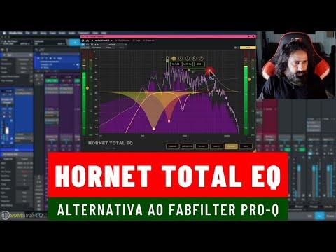 HoRNet Total EQ Alternativa ao Fabfilter Pro-Q