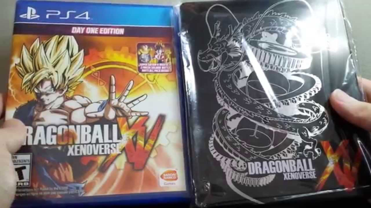 Dragon Ball Xenoverse Day One Steelbook Edition For Ps4