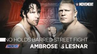 """2016: WWE WrestleMania 32 (XXXII) Official Theme Song - """"My House"""" + Download Link ᴴᴰ"""