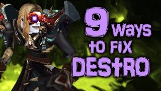 How to Improve WoD Destruction Warlock PvP [Cobrak]