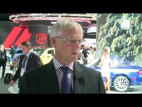 Fiat Chrysler Automobiles Display at 2016 Detroit Auto Show