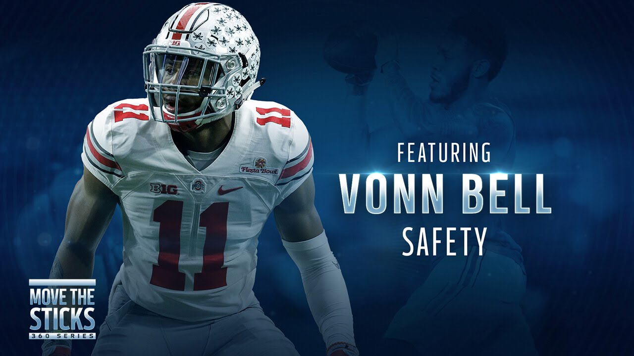 100% authentic 785b3 acb63 What Vonn Bell Can Learn From Earl Thomas | Move the Sticks 360 Series | NFL