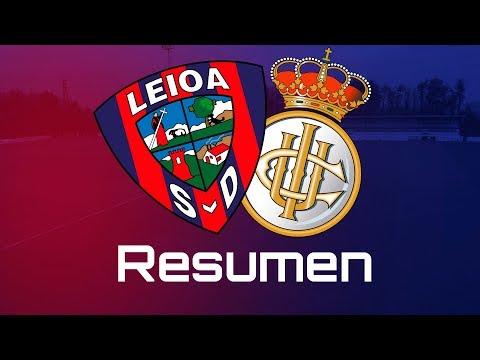 Resumen del SD Leioa - Real Unión Club (0-0)
