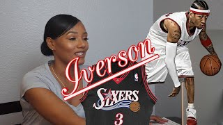 Clueless New Basketball Fan Reacts to Allen Iverson, NBA Basketball Top 40 Plays Highlights