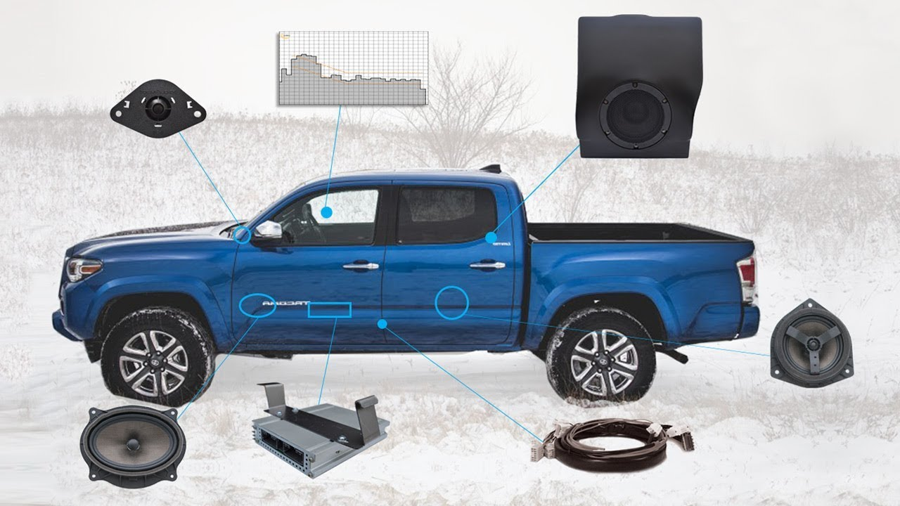 Complete Tacoma Sound Solution (Double Cab)