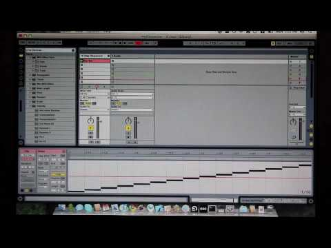 Touchosc ableton step sequencer youtube for Touchosc templates ableton