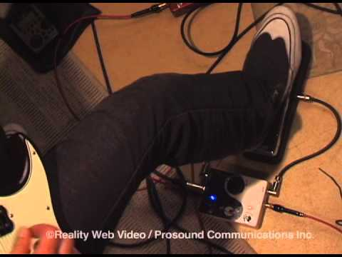 "Chris Juergensen ""Xotic Effects X-Blender with Wah Pedal"""
