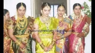 Celebrity Jewellery at Jr Sridevi(Manjula Daughter)Wedding Reception by http://22caratjewellery.com/