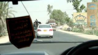 Driving in Sukkur Pakistan