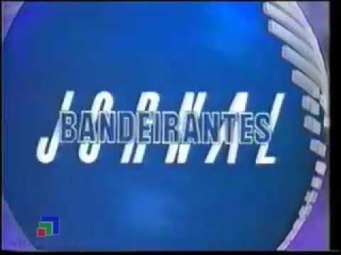 Abertura Jornal Bandeirantes - Rede Bandeirantes (1990)