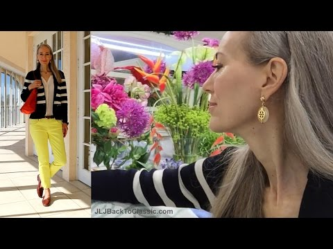 Classic Fashion/Home Decor: Vlog--Browsing Bed/Bath Pretties Gattles, Naples, FL; What I Wore