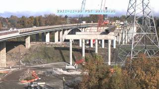 Willamette River Bridge Time Lapse 2011 Hd
