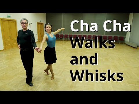 How To Dance Cha Cha Walks And Whisks | Cha Routine And Figures