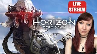 THUNDERJAW & STORMBIRD EPIC KILLS - Horizon Zero Dawn PS4 PRO Let's Play Walkthrough Gameplay Part 8